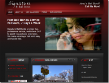 Signature Bail Bonds ::  www.signaturebailbonds.net